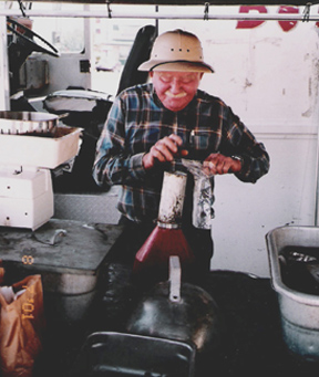 Mr. Byron Trawick Boiled Peanut Vendor Dothan Alabama- Peanut Man
