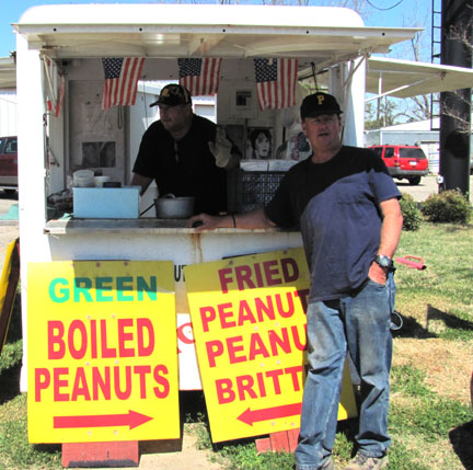 boiled peanut stand alabama highway 231 dothan troy alabama