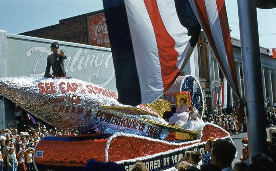 Captain Supreme Earl Hutto Supreme Ice Cream Dothan Alabama National Peanut Festival, photo by Judy Tatom