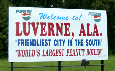Luverne Alabama World's Largest Peanut Boil Guiness record holder