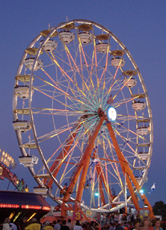 Ferris Wheel National Peanut Festival Dothan Alabama