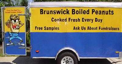 Brunswick Boiled Peanuts Trailer in Georgia