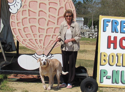 mildred, and gretchen boiled peanut stand alabama florida highay 231