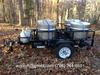 Boiled Peanut Trailer. D.O.T. approved with a 2000 pound capacity