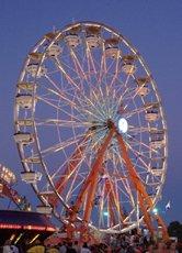 Ferris Wheel National Peanut Festival Dothan Alabama