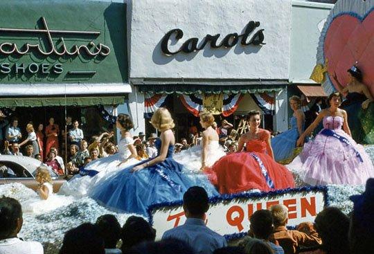1954 National Peanut Festival Queen Dothan Alabama, photo by Judy Tatom