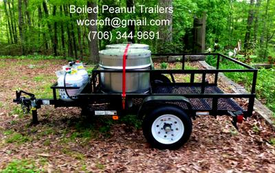 Basic Boiled Peanut Trailer