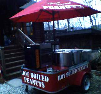 Hot Boiled Peanuts, Glenville, North Carolina