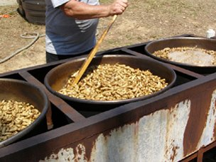 Pelion South Carolina Peanut Party boiled peanuts