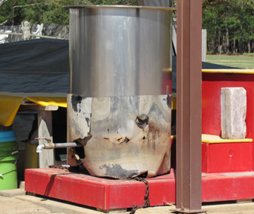 large stainless steel pot for boiling peanuts in alabama florida