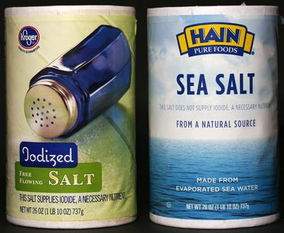 Iodized Salt Sea Salt